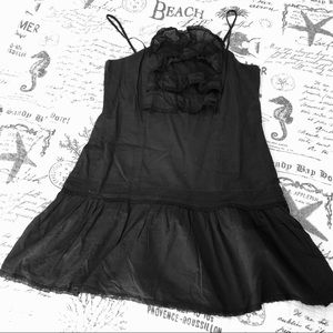 Juicy Couture Black Voile Fashion